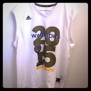 Adidas NBA Warriors 2015 Jersey